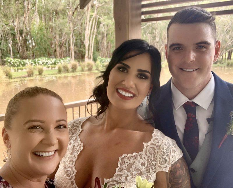 Hills Celebrant Wedding - Becky & Darcy