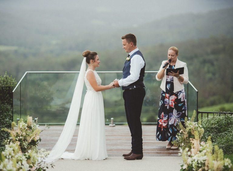 Hills Celebrant Wedding - Charlotte & Josh