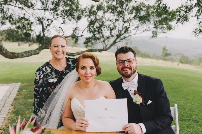 Hills Celebrant Wedding - Rachael & Cameron