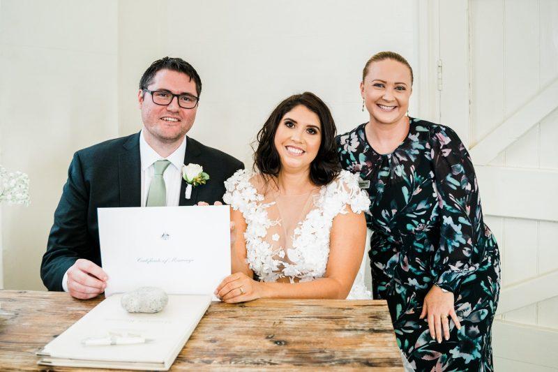 Hills Cellebrant Wedding - Alana & Marty