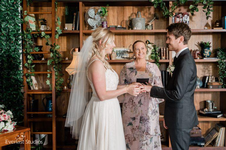 Pop-up wedding by Natasha Hill