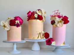 Elegantly Frosted Wedding Cakes